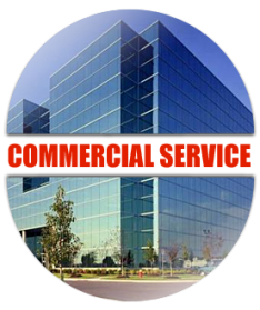 commercial plumbing services for offices, industrial spaces, retail, and restaurants
